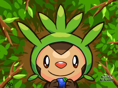 Photo Collection Chespin Pokemon Wallpapers Hd