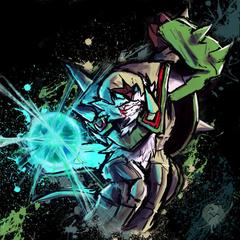 Chesnaught Energy Ball Blitz by RushLightInvader