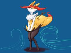 Brazen Braixen Zadomi Fur Affinity Dot Net Pokemon Wallpapers For
