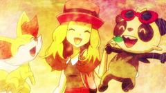 Pokemon Serena And Fennekin