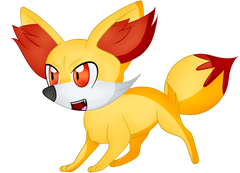 Fennekin drawing red fox Frames Illustrations HD image