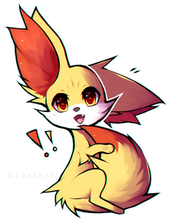 Fennekin drawing Frames Illustrations HD image Photo