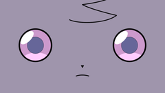 Adorn your desktop with Espurr s creepy blank stare If you dare