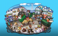 Pokémon Gogoat Lumiose City HD Wallpapers Desktop and Mobile