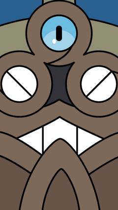 Made another wallpaper Honedge for mobile screens pokemon