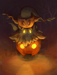j3rry1ce More ghost Pokemon I can imagine that Pumpkaboo and