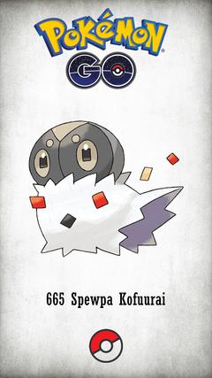 Character Spewpa Kofuurai