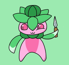 Fomantis with a knife because why not https i redd it