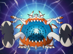 Shiny Guzzlord Smashes Its Way In D