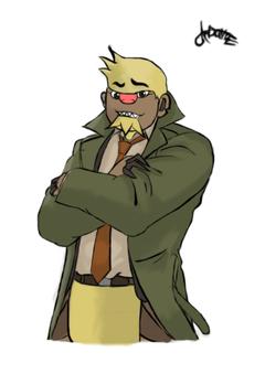 Detective Gumshoe x Gumshoos by CitronOdysseus