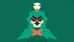 Decidueye Minimal Wallpapers by Xeros610