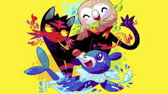 Litten Popplio and Rowlet Pokemon Su Wallpapers