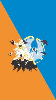Solgaleo and Lunala Wallpapers pokemon