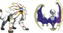 Pokémon immagini Solgaleo Lunala artwork HD wallpapers and