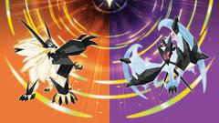 Lunala and Solgaleo Pokemon Ultra Sun a HD Wallpapers