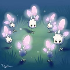 Morelull Pokemon Sun Pokemon Moon fairy type by tatanRG deviantart