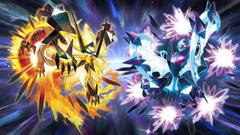 Dusk Mane Necrozma and Dawn Wings Ne 4K UHD Wallpapers