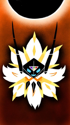 Dusk Mane Necrozma iPhone wallpapers I made during the pre