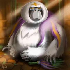 Oranguru Pokemon Sun Pokemon Moon by tatanRG