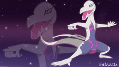 Shiny Salazzle wallpapers by Elsdrake