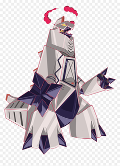 Pokemon Sword And Shield Duraludon Gigantamax HD Png