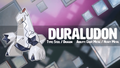 Pokémon sword and shield new Pokemon duraludon