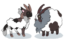 dubwool unnamed fakemon