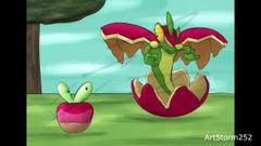 Speed Drawing Applin Flapple Pokemon Sword Shield