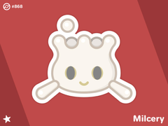Shiny Milcery by Chris Grooms on Dribbble