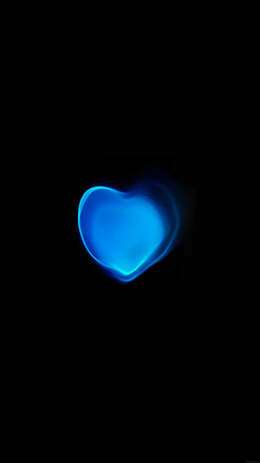 Papers Love Applewatch Art Blue Illust Dark Android wallpapers
