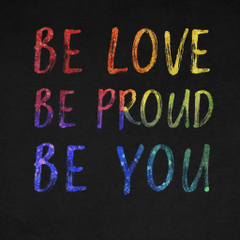 Be You 4K Wallpaper Be Love Be Proud Dark background Inspirational quotes Black Dark
