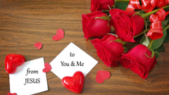 Love Letter of Jesus Christ to You Me Jesus Loves everyone of You