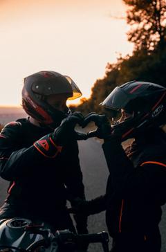Couple Biker Pictures