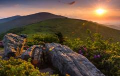 Wallpapers sunset mountains Tennessee Appalachian Appalachian