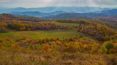 Appalachian Mountains Autumn wallpapers