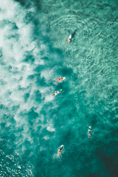Bondi Beach Surfers Android Wallpapers