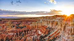rock nature landscape bryce canyon national park rock formation