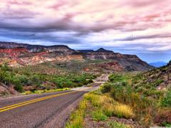 Road To Big Bend National Park 4K HD Desktop Wallpapers for