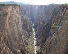 Rock Climbing at the Black Canyon of the Gunnison