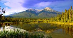 vermilion lakes banff national park alberta canada canadian rocky
