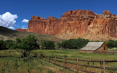 Mountains Park Reef Capital Fence Nature Canyons Barn Capitol