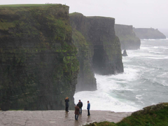 The dramatic Cliffs of Moher