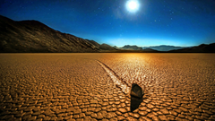 Sailing Stones In The Racetrack Playa Death Valley National Park