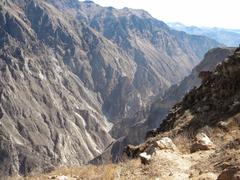 Tourist First Peru Colca Valley Colca Canyon