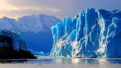 Best Beautiful Natures Ice Glacier Wallpapers Collection