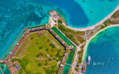 Fort Jefferson in Dry Tortugas National Park Florida