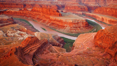 Landscapes Grand Canyon National Park Usa River Reds Stone
