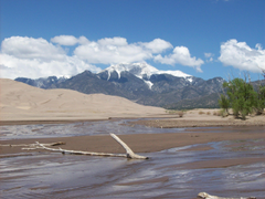 Great Sand Dunes National Park and Preserve in Colorado Camping