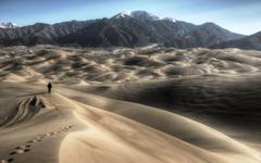 Picture High Dune Great Sand Dunes National Park HDRI Nature Desert