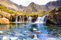 Wallpapers Fairy Pools Waterfall Isle of Skye Scotland HD Nature